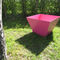 Metal planter / contemporary / for public areas KUBIC MINI GUYON
