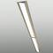 recessed ceiling light fixture / recessed floor / fluorescent / linear
