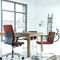 Contemporary office armchair / fabric / on casters / star base NEOS by Wiege Wilkhahn