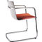 Contemporary visitor chair / with armrests / upholstered / stackable NEOS by Wiege Wilkhahn