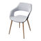 Contemporary visitor chair / with armrests / upholstered / star base OCCO by Jehs+Laub Wilkhahn