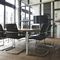 Contemporary visitor chair / with armrests / upholstered / stacking ON 170 by Wiege Wilkhahn