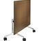 contemporary classroom table / aluminum / rectangular / on casters
