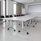 Contemporary classroom table / aluminum / rectangular / on casters TIMETABLE SHIFT by Andreas Störiko Wilkhahn
