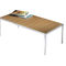 Contemporary coffee table / wooden / glass / rectangular ASIENTA by Jehs + Laub Wilkhahn