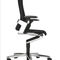 Contemporary executive chair / leather / fabric / on casters ON 170 by Wiege Wilkhahn