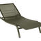 contemporary garden sun lounger (stacking) ALIZE by Pascal MOURGUE FERMOB