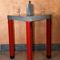 contemporary high bar table (zinc) BOTT�E Dezinc