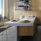 contemporary wood veneer kitchen LIGNUM & LAPIS: COMPOSITION 2 by Antonio Citterio Arclinea