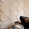 decorative eco-friendly wall panel in recycled cellulose fiber ELLIPSES WALLART