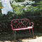 traditional metal garden bench 1900 FERMOB