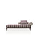 contemporary daybed / fabric / aluminum / garden