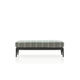 contemporary upholstered bench / fabric / aluminum / by Antonio Citterio