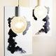hanging lamp / minimalist design / ceramic / handmade