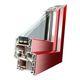 casement window / PVC / triple-glazed / acoustic