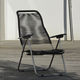 contemporary armchair / aluminium / rope / garden