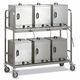 commercial trolley / stainless steel