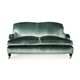 french style sofa / for reception areas / velvet / commercial