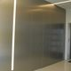 indoor door / for walk-in closet / swing / aluminum