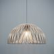 pendant lamp / contemporary / paper / wooden