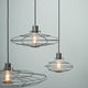 pendant lamp / industrial style / metal / transparent