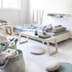 single bed / contemporary / child's / birch