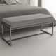 contemporary bed bench