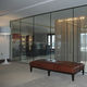 partition wall architectural glass / building / UV-resistant / safety