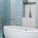 bathroom tile / wall / ceramic / polished