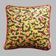 sofa cushion / square / rectangular / patterned