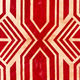 contemporary rug / patterned / leather / handmade