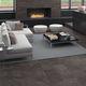 wall tile / for floors / porcelain stoneware / plain