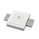 recessed downlight / LED / square / residential