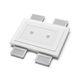 recessed downlight / LED / rectangular / residential