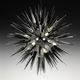 contemporary chandelier / Murano glass / LED / handmade
