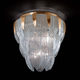 traditional ceiling light / Murano glass / LED / incandescent