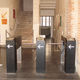 tripod turnstile / for access control / stainless steel / for public buildings