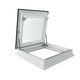 roof hatch / square / aluminum