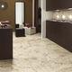 floor tile / porcelain stoneware / polished / marble look