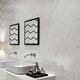 wall tile / porcelain stoneware / matte / marble look