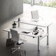 work table / contemporary / MDF / rectangular