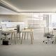 workstation desk / oak / beech / contemporary
