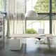 executive desk / oak / beech / contemporary
