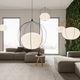 pendant lamp / contemporary / aluminum / dimmable