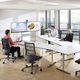 contemporary conference table / HPL / rectangular / for offices