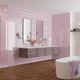 bathroom tile / floor / porcelain stoneware / polished