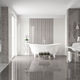 bathroom tile / floor / porcelain stoneware / plain