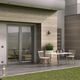aluminum door profile / thermally-insulated