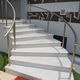 indoor railing / aluminum / with bars / for stairs