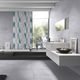 indoor tile / wall / porcelain stoneware / rectangular